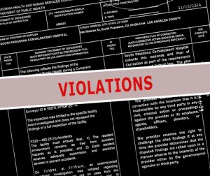 Patient Care Violations related to Brius Nursing Homes